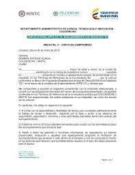 Calaméo Anexo 4 Carta De Compromiso Con Datos