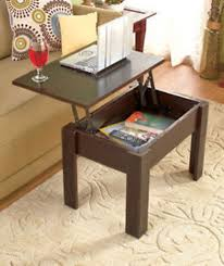 Living Room Table Sets With Storage by Brown Lift Top Coffee Table W Storage Computer Desk End Table Tv
