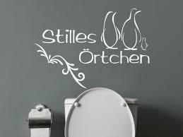 huis wandtattoo stilles örtchen badezimmer lustig toilette