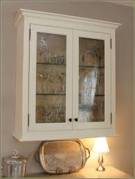 Decoration Wood Glass Display Case Lockable