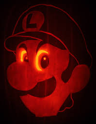 Nintendo Pumpkin Patterns by Luigi U0027s Pumpkin Stare By Johwee On Deviantart