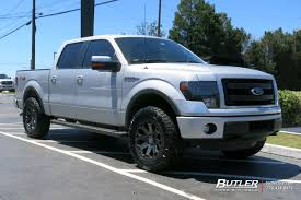 100 Ford Truck Tires F150 With 20in Black Rhino Warlord Wheels Butler Tire S