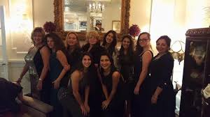 the girls from tesi bridal formal picture of union park dining