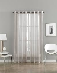Striped Sheer Curtain Panels by Milos Sheer Grommet Curtain Panel Curtainworks Com
