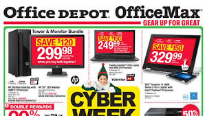 Depot ficeMax Cyber Monday 2015 Deals Land Sunday