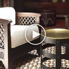 orientalische marokkanische len möbel mosaik l artisan de