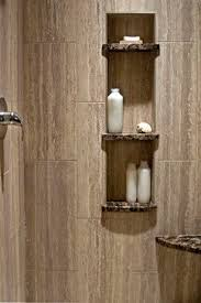 shower room ideas brown 12by24 tile search shower