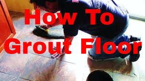 how to grout floor the right way by tile setter dave