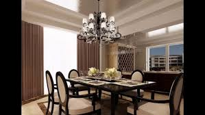 Dining Room Chandelier Unique Modern Crystal Rectangular Off Center Funky