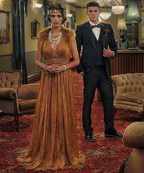 1920s FASHIONS Jake And Olivia Model Before The Melbourne Fashion Festival Olivias Gown Is