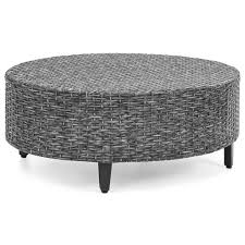 Semi Circle Patio Furniture by 5 Piece Semi Circle Wicker Sectional Sofa Black U2013 Best Choice