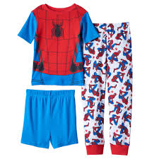 Spiderman Twin Bedding by 4 10 Marvel Spider Man Homecoming 3 Piece Pajama Set