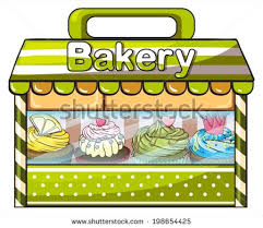 bakery building clipart