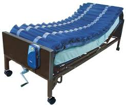 Alternating Pressure Mattress Overlay System with Low Air Loss for