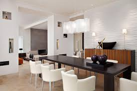 Modern Dining Room Wall The Holland Modern Dining Room
