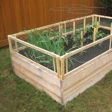 DIY Raised Bed Removable Pest Gate Ve able Gardener