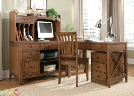 L Shaped Desk Home Office Rustic Desks For Furniture In Design