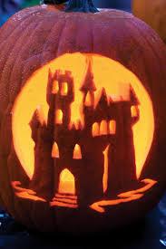 Disney Castle Pumpkin Pattern by 33 Halloween Pumpkin Carving Ideas Southern Living