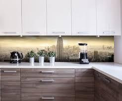 küchenrückwand new york skyline view nischenrückwand spritzschutz fliesenspiegel ersatz deko küche m0221