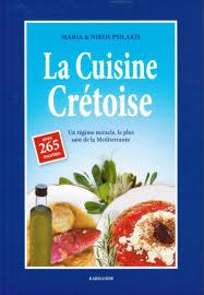 livre de recettes de cuisine la cuisine crétoise 265 recettes