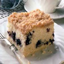 Streusel Blueberry Coffee Cake Recipe