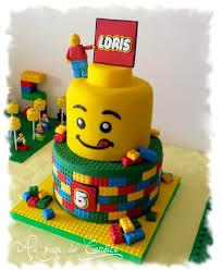 gâteau lego au pays de candice