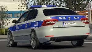 SKODA POLICE V1.1 Car -Euro Truck Simulator 2 Mods