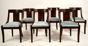 Mahogany Dining Room Furniture Sets Antique Table Chairs