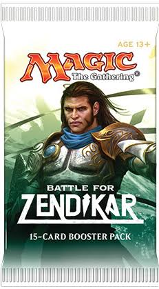 Magic the Gathering Modern Battle for Zendikar Booster Pack - 15 Cards