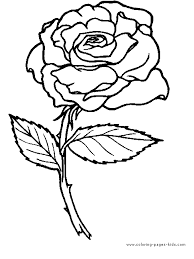 Great Free Printable Rose Coloring Pages 31 On Books With