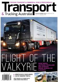Transport & Trucking Issue 110 By Transport Publishing Australia - Issuu