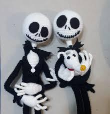 Jack And Sally Pumpkin Stencil Free by Amigurumi Pumpkin Jack Tutorial Part 3 Youtube