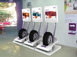 Tyre Display Unit Designed For Apollo Tyres