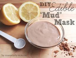 DIY Edible Mud Mask Spa Day Recipe
