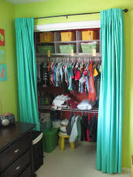 Domestications Curtains And Blinds by Closet With Curtains Instead Of Doors Maybe As A Temporary Until
