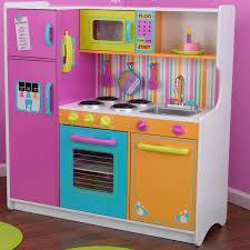 kidkraft deluxe big bright kitchen play set reviews wayfair
