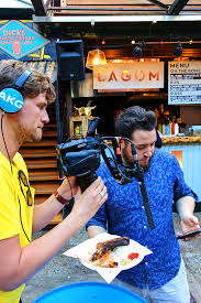 100 Food Truck Challenge Filming At Dinerama London Researching Awesome Street Food For Our