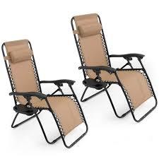 Folding Patio Chairs Amazon by Amazon Com Oshion 1 Pair Zero Gravity Chairs Black Lounge Patio