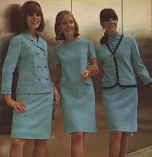 Womens Aqua Coordinates 1966