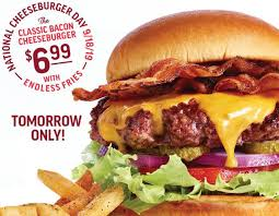 National Cheeseburger Day 2019: Best Deals, Discounts ... Celebrate Sandwich Month With A 5 Crispy Chicken Meal 20 Off Robin Hood Beard Company Coupons Promo Discount Red Robin Anchorage Hours Fiber One Sale Coupon Code 2019 Zr1 Corvette For 10 Off 50 Egift Online Only 40 Slickdealsnet National Cheeseburger Day Get Free Burgers And Deals Sept 18 Sample Programs Fdango Rewards Come Browse The Best Gulf Shores Vacation Deals Harris Pizza Hut Coupon Brand Discount Mytaxi Promo Code Happy Birthday Free Treats On Your Special