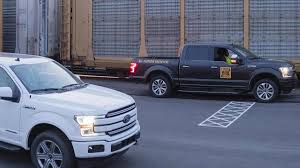 100 Truck Pulling Videos Ford F150 EVs 125MPound Train Pull Turns Out To Be Pretty