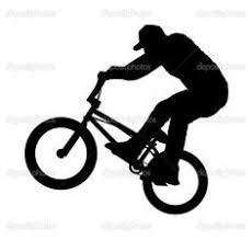 Silhouette Rest Bmx Bike