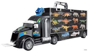 100 Safari Truck Memtes Dinosaur And Wild Life Animal Car Carrier Transport