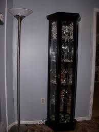 100 pulaski curio cabinet 20661 black granite curio cabinet