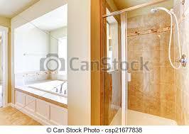 badezimmer tür elfenbein dusche glas weich trimmen