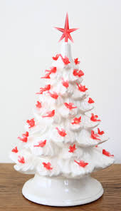 Atlantic Mold Ceramic Christmas Tree Lights by Red Birds In The Tree