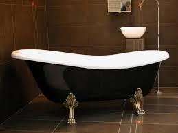 freistehende luxus badewanne jugendstil roma schwarz weiß altgold 1470mm barock antik badezimmer