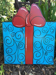 Christmas Yard Art Garden Present By Samthecrafter On Etsy