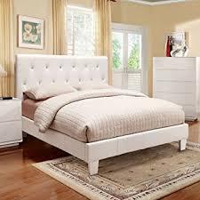 amazon com mantua modern style white finish queen size
