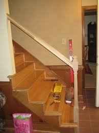 Stair Banisters Ideas - Neaucomic.com How To Replace Banister Newel Post Handrail And Spindles On A Banister Attachment To Install A Wooden Handrail On Split 42 White Wood Stair Railing Modern Home Designs Steep Stairs Rails Iron Balusters August 2010 Deckscom Deck Railings Installing Baby Gate Without Drilling Into Insourcelife Cooper Stairworks Tips Techniques Using Post Hdware For Iron X Installation Animation Youtube Chaing Your Wrought Fancy